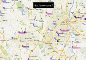 aprs map