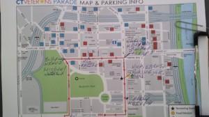 2013 vet parade parade route